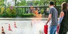 Schutz vor Feuer und Flamme