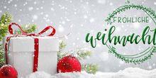 Heißer Tee und kalte Füße — jetzt ist Zeit für Weihnachtsgrüße!