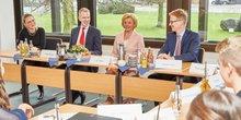 Round Table mit Frau Mohn