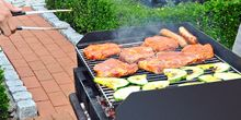 Grillparty der Buchbinder